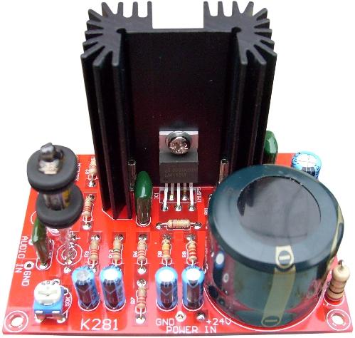 lm1875 power amp - Проверенные схемы.